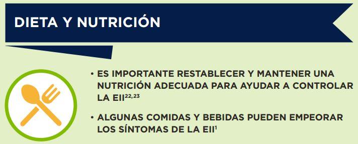 Enfermedad de crohn y dieta